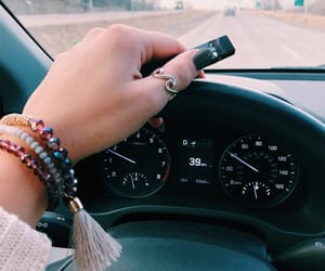 aesthetic, car, and drive image