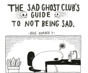 ghost and sad image