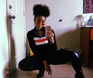 black, fashion, and natural hair image