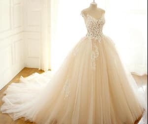 wedding dress and appliques wedding dress image