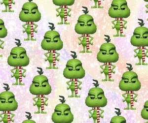 background, christmas, and grinch image