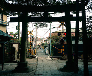 japan, street, and japan aesthetic image