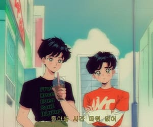 anime, exo, and 90s image