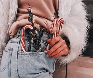 christmas, fashion, and jeans image