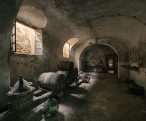 abandoned, cellar, and dark image