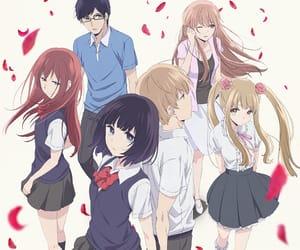 anime, romance, and sanae ebato image