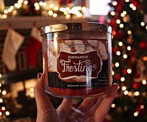 christmas, lights, and candle. tree image