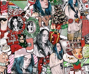 aesthetic, billie, and christmas image