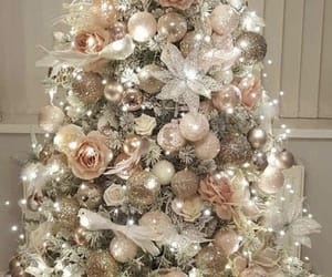 christmas, happy new year, and tree image