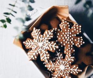 christmas, christmas cookies, and gingerbread image