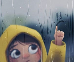 rain and sad image