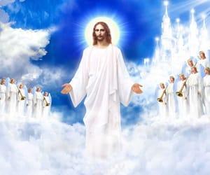 afterlife, angels, and Catholic image