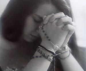 Catholic, girl, and mary image