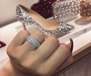 diamond, accessories, and girly image