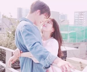 couple, cute, and uncontrollably fond image