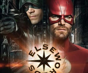 barry allen, arrow, and the flash image