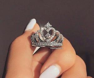 crown, diamonds, and luxury image
