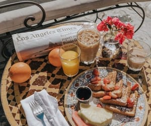 breakfast, food, and drink image