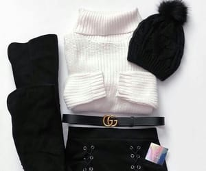 winter, fashion, and gucci image