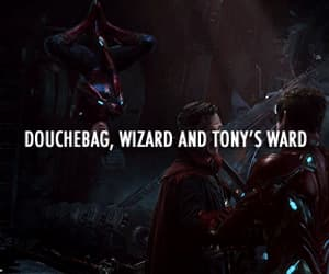 Avengers, spiderman, and tony stark image