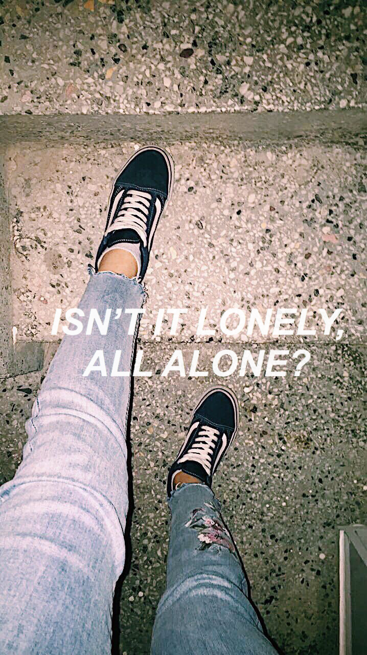 article, loneliness, and sidewalks image