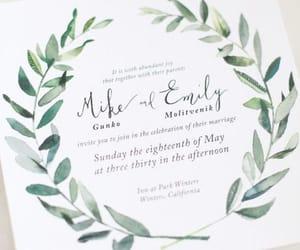 art, calligraphy, and invitation image