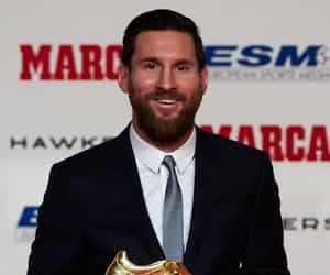 celebrities, football, and lionel messi image