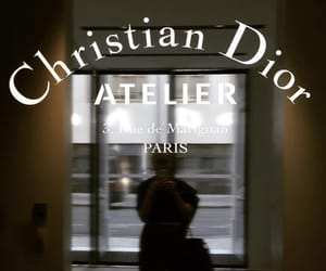 Christian Dior, dior, and haute couture image