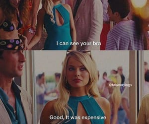 bra, feminist, and margot robbie image