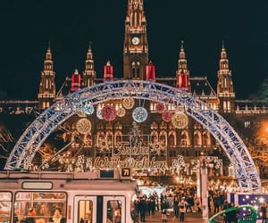 christmas, architecture, and beautiful image