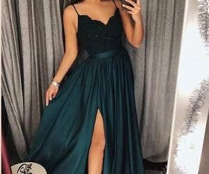 fashion, dress, and Prom image