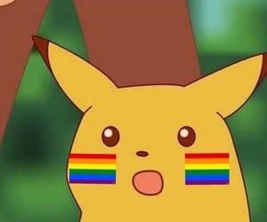 meme, pikachu, and pokemon image