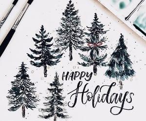 art, christmas, and winter image