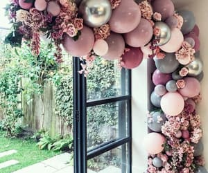 balloons, beautiful, and decoration image