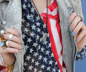 fashion, usa, and nails image