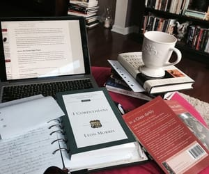book, college, and coffee image