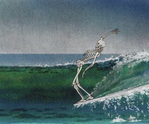 surf, art, and sea image