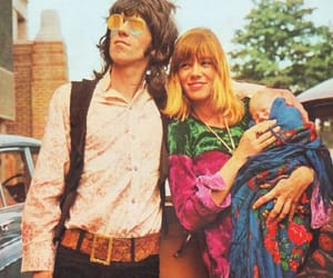 anita pallenberg, Keith Richards, and 60s image