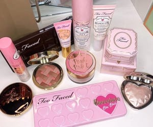 beauty, pink, and makeup collection image