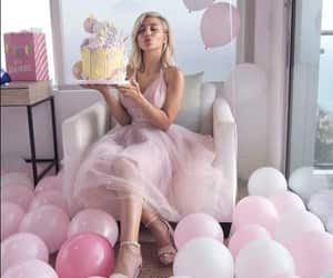 birthday, girl, and pink image