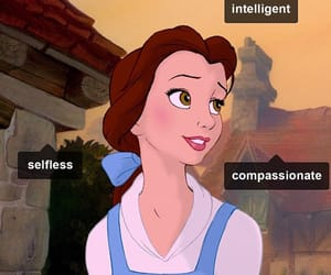 beauty and the beast, compassionate, and disney image