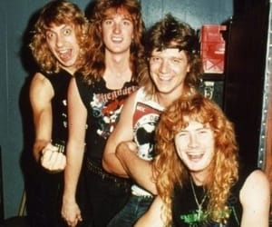 dave mustaine, metal music, and megadeth image