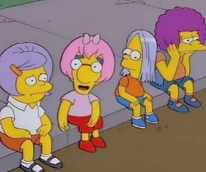 girl, simpson, and mood image