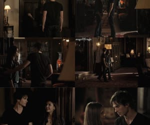 When Elena first meets Damon