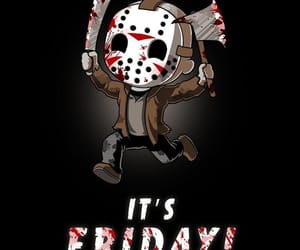friday the 13th, horror, and horror film image