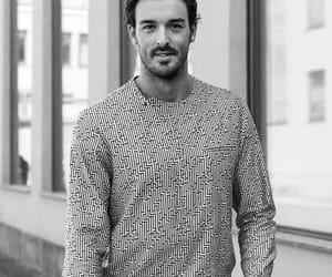 Armani, fashion, and man image