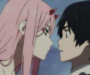 anime, hiro, and horns image