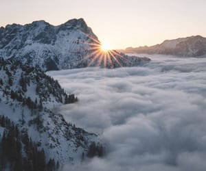 fog, mountains, and photography image