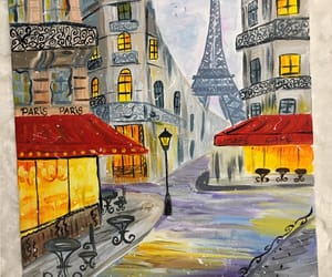 art, drawing, and france image