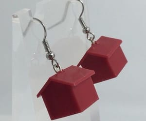 clothes, house, and earrings image